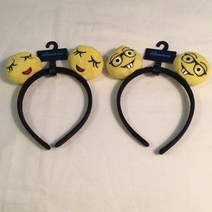 Other - Emoji Headbands - NWT